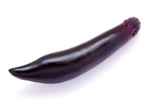 Japanese eggplant (naganasu)