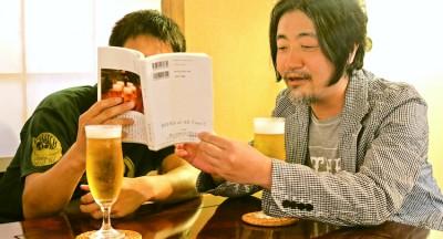 嶋浩一郎さんと森俊介さん