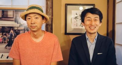 池田浩明さんと間中伸也さん