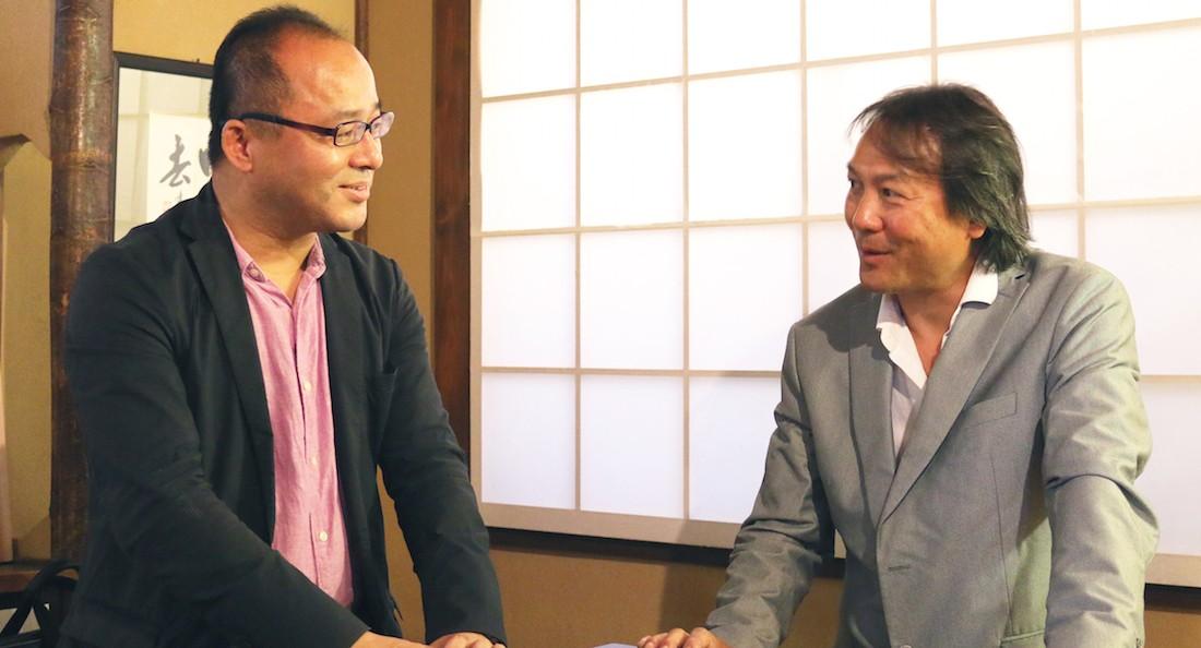大崎裕史さんと杉崎健二さん