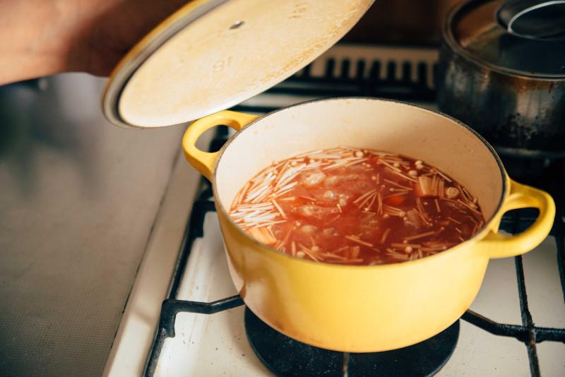 ごはんを炊くところ