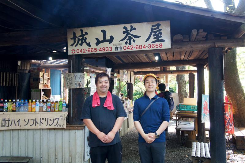 尾嶋さんと中村