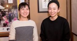角田光代さんと西加奈子さん