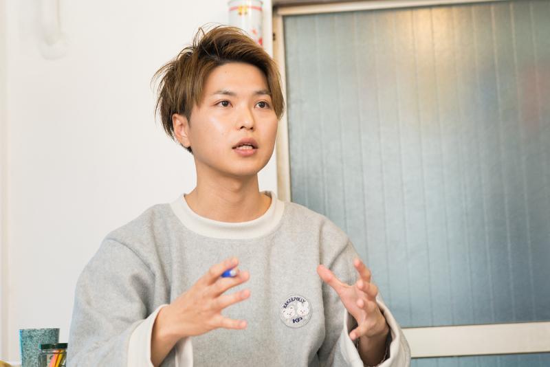 LIP編集部 田中佑典さん
