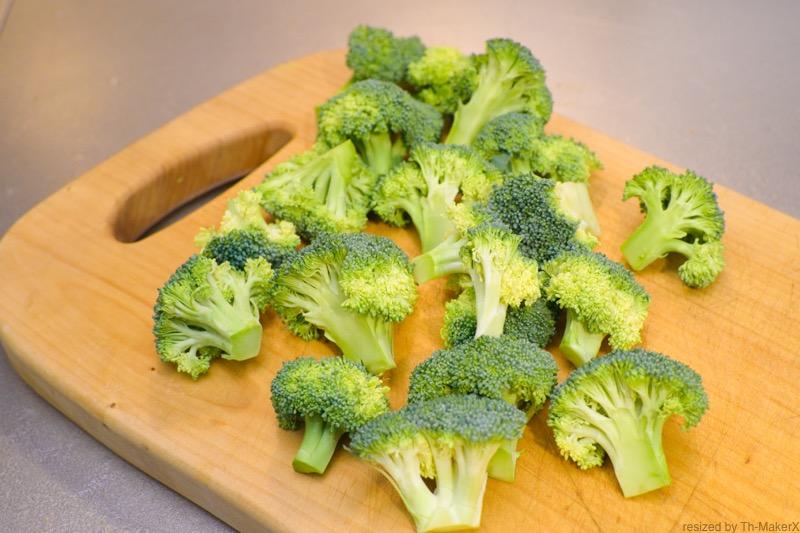 6種類のブロッコリーを用意