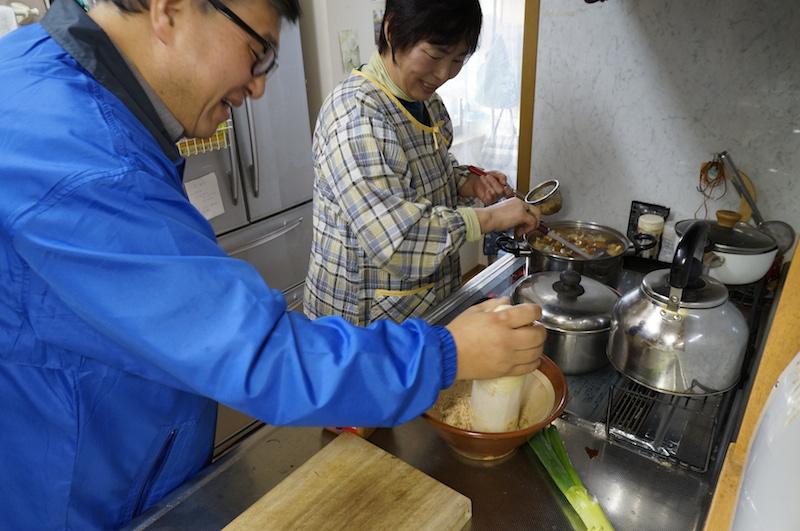 島村雅人とお母さん