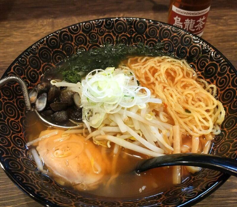 『濃厚しじみらーめん 赤(900円)』