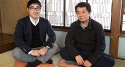 永田宏和さんと寄藤文平さん