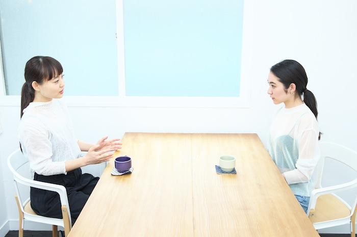 青山有紀と吉田沙世