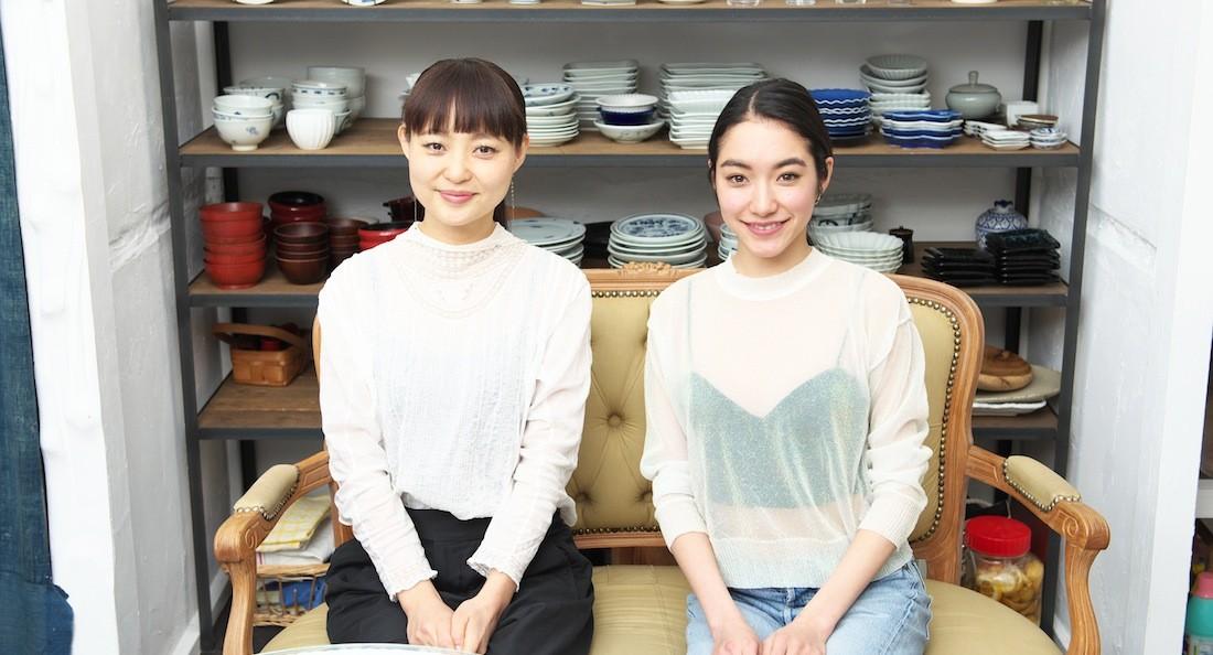 吉田沙世さんと青山有紀さん
