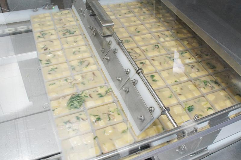 豆腐のおみそ汁の工程