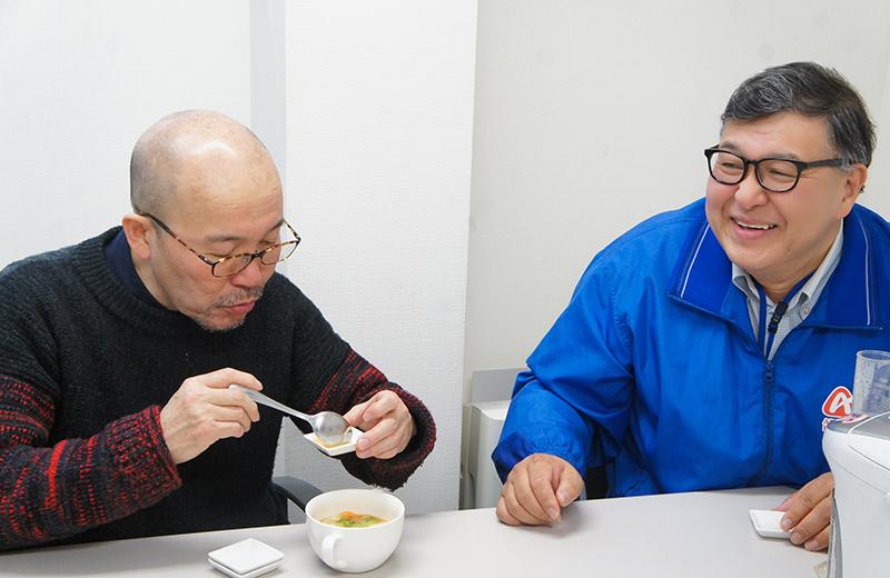 島村雅人と久住昌之