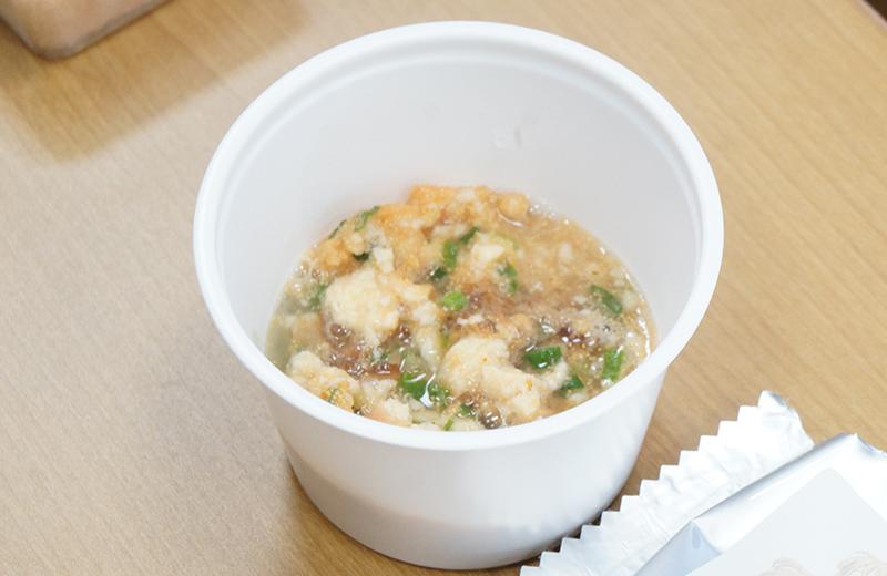 豆腐めんたいこ丼