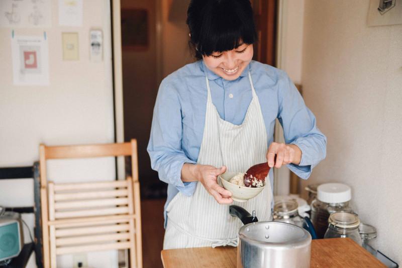 夏井景子さんと小型圧力鍋