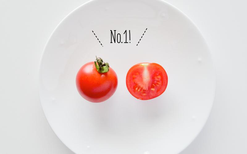赤いミディトマト