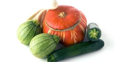 ズッキーニとかぼちゃ