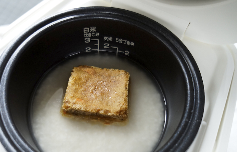 アマノフーズ フリーズドライの松茸ご飯の素