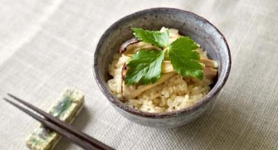 松茸ご飯の作り方・下処理のコツ