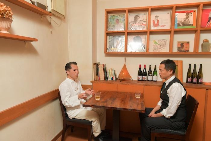 林伸次と伊藤博之