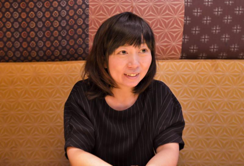 広報部の亀田泰子さん