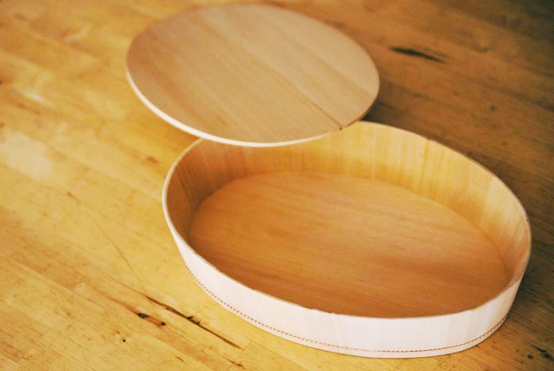 「自在道具」楕円の飯台