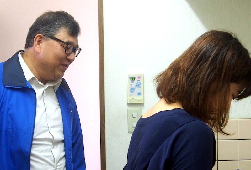 島村雅人と中井美紀子