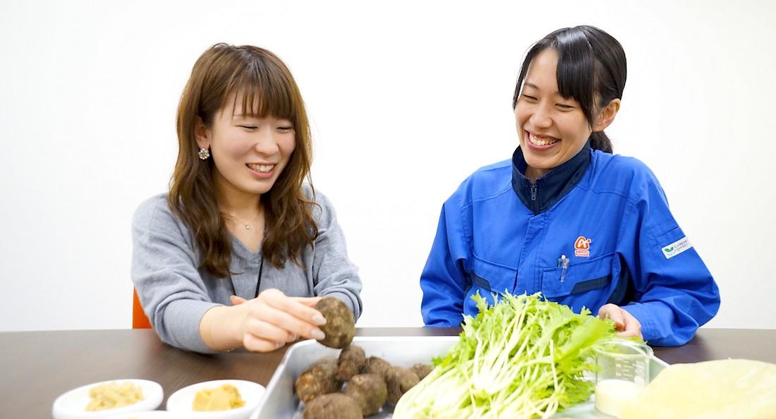 アマノフーズ社員インタビュー写真