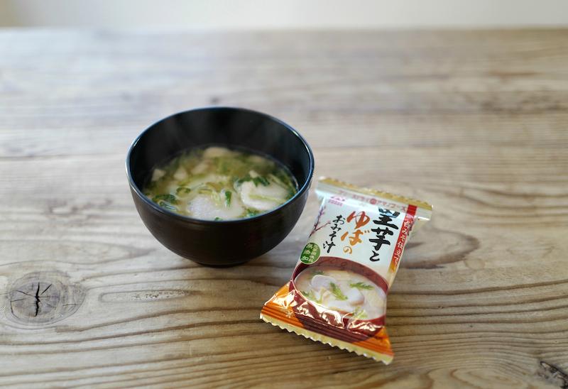 里芋とゆばのおみそ汁アマノフーズ