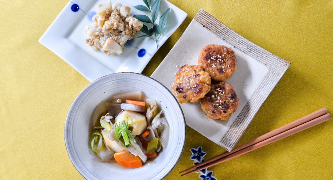 里芋の郷土料理3品