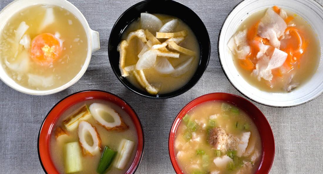 冬おみそ汁レシピ