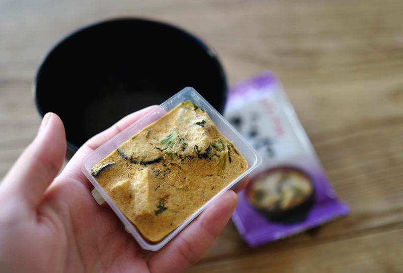 アマノフーズのお味噌汁写真