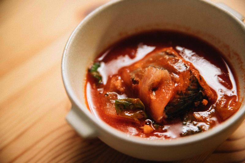 野菜たっぷり!さばのトマトスープ煮
