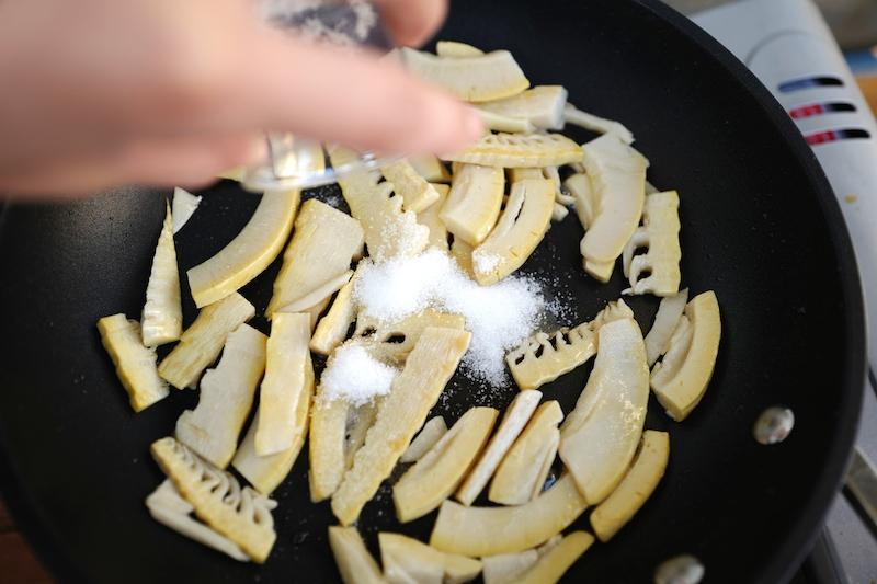 手作りメンマ作り方