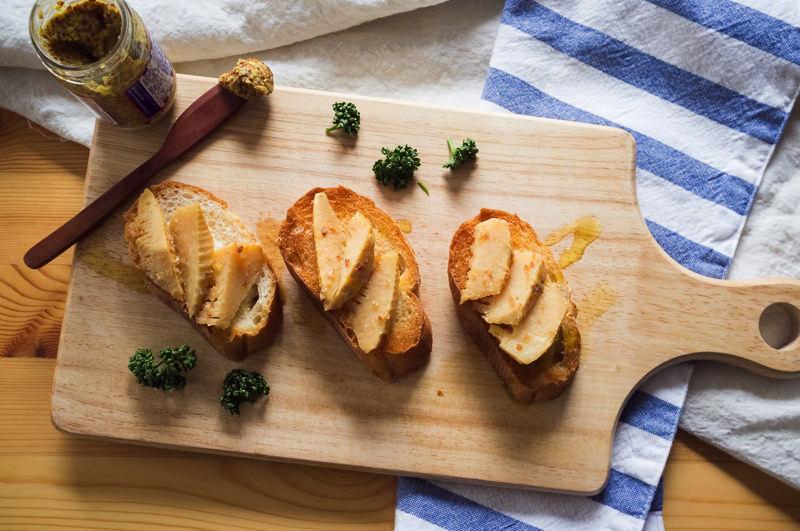 無限タケノコonパン