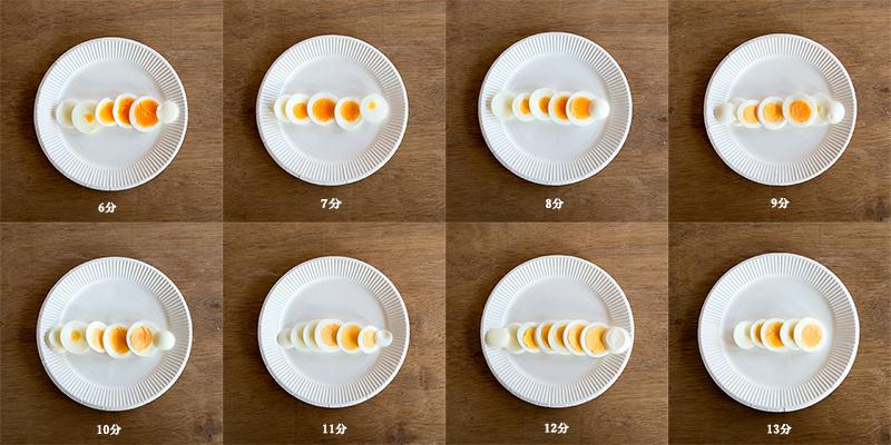 ゆで卵の茹で時間ベストタイム