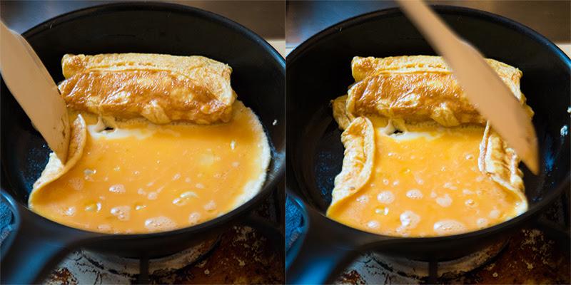 卵焼き巻き方コツ