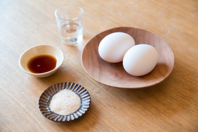 卵焼きの材料・作り方