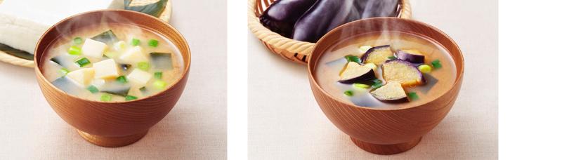アマノフーズいつものおみそ汁(なす・豆腐)