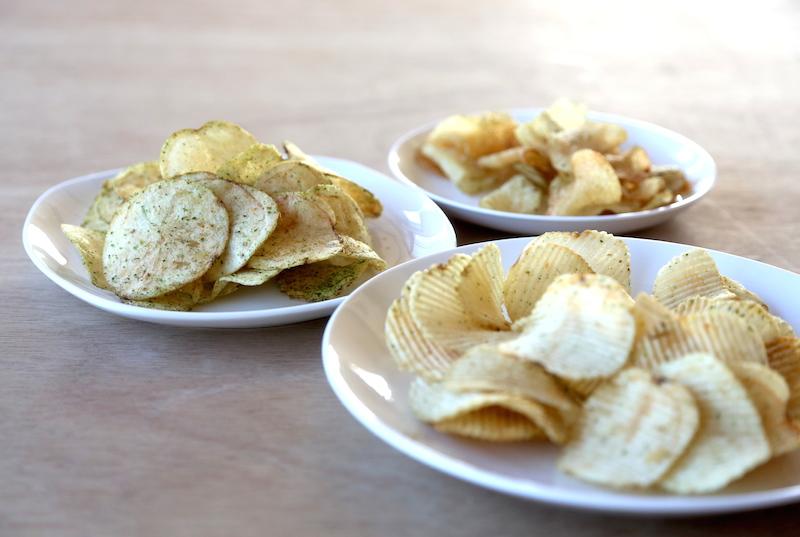 ポテトチップスのり塩味比較