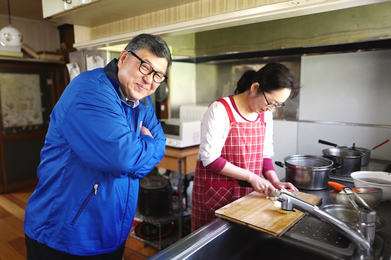 島村雅人と華子さんのお母さん