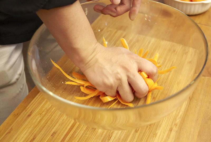 タリアテッレサラダの作り方
