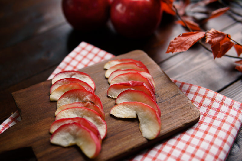 ドライりんご作り方