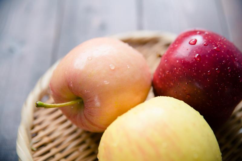 りんご3種類