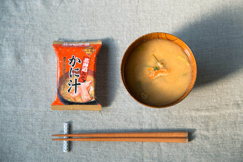 北海道みそ かに汁