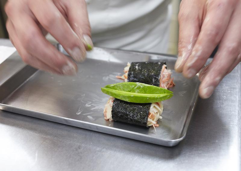 カニかまサラダチーズ焼き