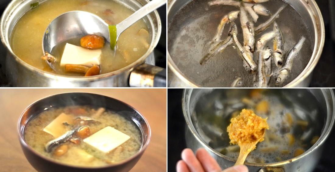 簡単な味噌汁の作り方