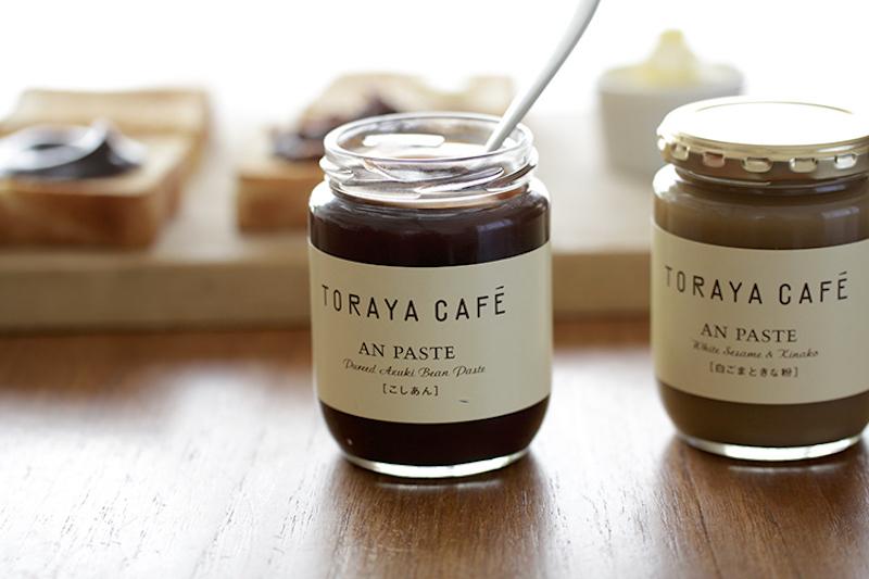 『TORAYA CAFE』のあんペースト