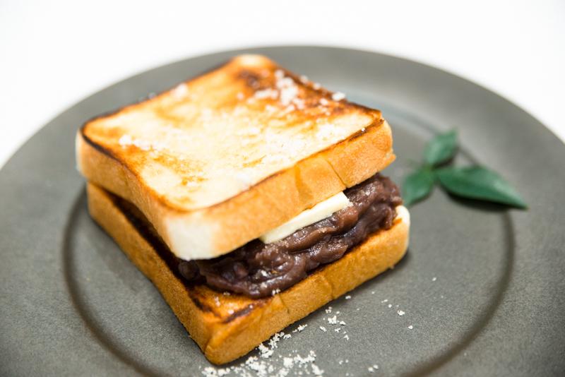 おしるこ活用:あんこバタートースト
