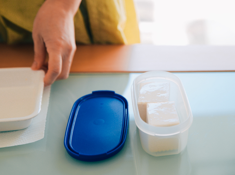 豆腐の保存方法