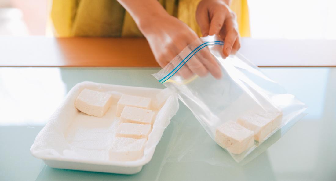 豆腐の冷凍保存